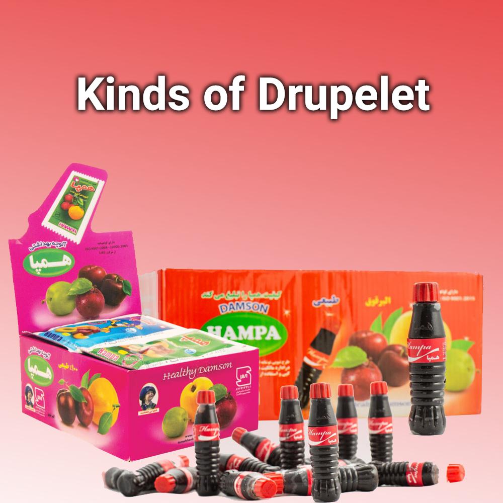 Kinds of Drupelet